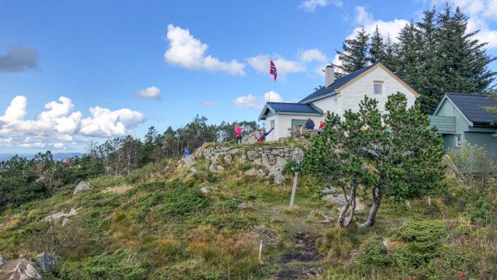 Norge Bergen - Tur til Fjell-hytten