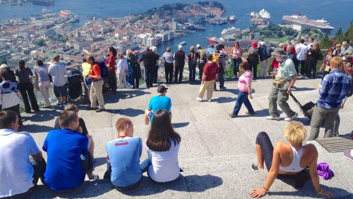 Bergen Fløyen - Flott utsikt og gode turmuligheter