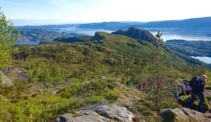 Norge Bergen - Bilder 7-fjellsturen