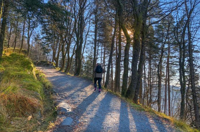 Norway Bergen - Mount Floyen Hike