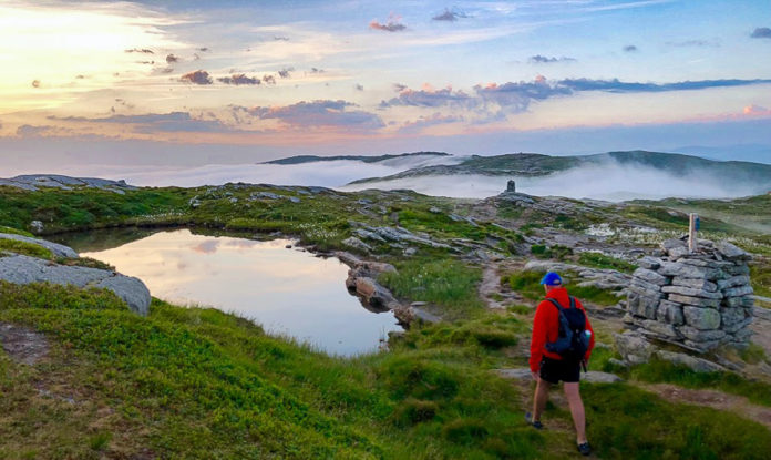 Norway Hiking - Vidden by Night at Summer