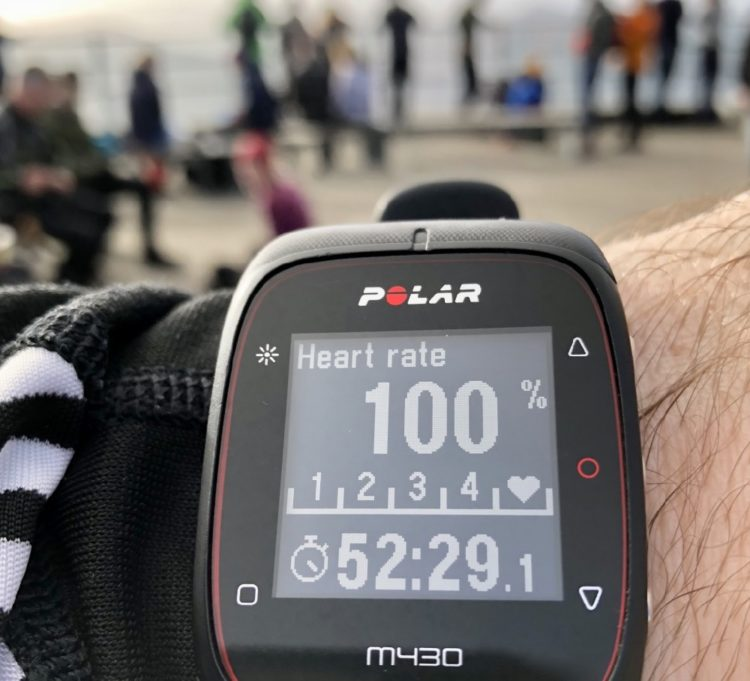 Bergen Ulriken: Polar M430 Activity tracker