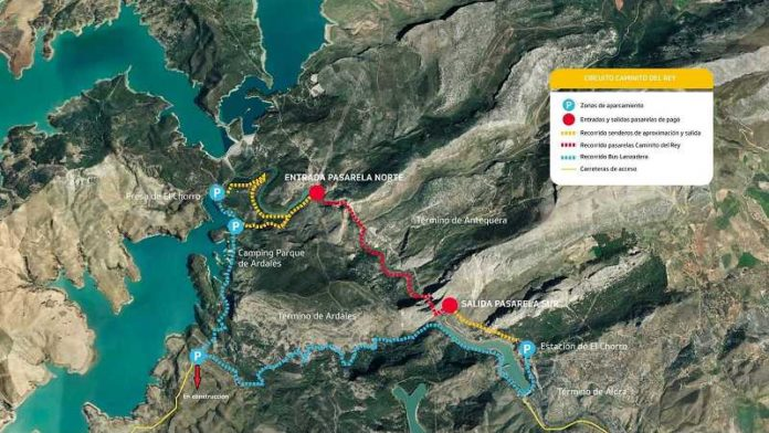 Spania Malaga Hiking - Caminito del Rey
